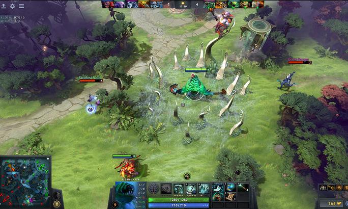 DOTA_2 gameplay