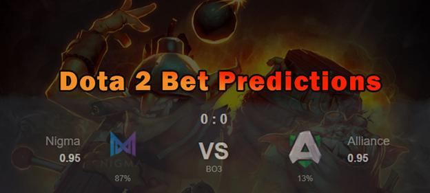 Dota 2 Bet Predictions